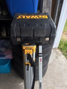 18V Self Leveling Int/Ext Rotary Laser Package Prince George British Columbia image 6
