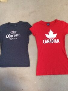 Ladies Size Small Beer T Shirts New Conditions