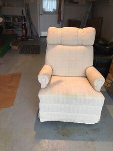 Rocker swivel chair