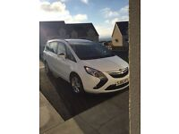 Vauxhall zafira exclusive 1.8 petrol 2015 7 seats 10k miles