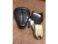 52000279 – Harley Davidson Solo Spring Saddle – Black