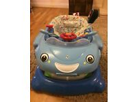 Baby Walker - Blue car - with or withour seat