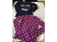 Collection of girls tops x5 age12-13