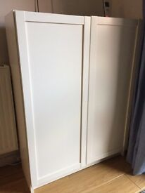 Ikea oxberg white doors for billy bookcases