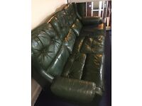 Leather sofa very cheap