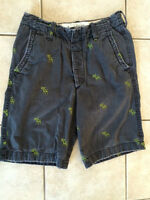ABERCROMBIE & FITCH MENS SHORTS(32)
