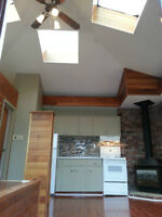 July 1st, Amazing Unit W/ Skylights, Private Deck, Charelswood