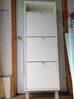 IKEA shoe cabinet with 3 compartment - Moving Sale
