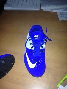 Nike track cleats size 9 us. Rival s cleats only used twice! Cambridge Kitchener Area image 1