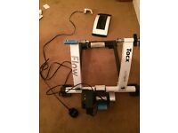 Track flow electric computer turbo trainer
