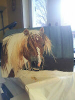 Need a unique gift or treating yourself? Custom Equine Portraits