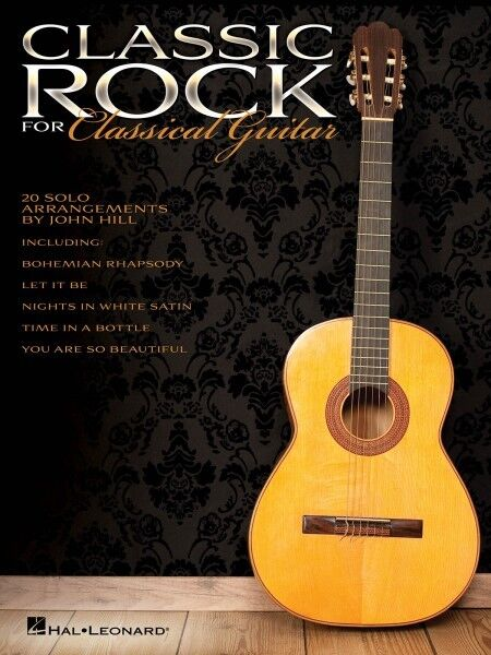 Classic Rock for Classical Guitar Sheet Music Guitar Solo Book NEW 000703633