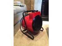 Round Tilting Fan Heater 2580 Kcal 10200BTU 250/150/3000W