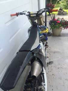 2009 yz 250f trade for truck or sled Strathcona County Edmonton Area image 6