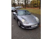 Grey 2004 Porsche Boxster Convertible 2.7 Petrol, Long MOT, Clear White Lights Front and Back