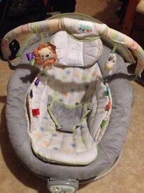 Bouncy chair by taggies