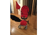 Stokke® Xplory Pushchair - Red