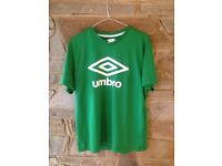 Umbro Tee Shirt: Green (Medium) (Delivery Available)