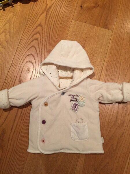 M & S Winnie the Pooh baby jacket