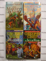 """""""A Wizard in Rhyme"""" Books 1-4 by: Christopher Stasheff"""