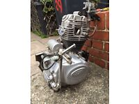 Sym Xs 125 engine with starter motor 3000 miles only