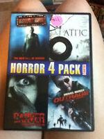 Horror 4 Pack DVD - Volume 1