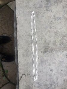 """26"""" .925 Italy silver chain *retail 350$*"""