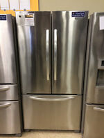 Stainless Steel French Door Fridge