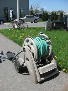 Garden Hose with Stand