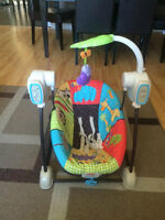 Fisher Price Vibrating Space Saver Swing