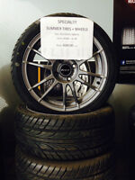 """17""""- 4X114.3 Fast Wheel and tire package"""
