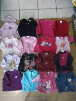 LOT OF GIRL CLOTHING 12-18 MTHS