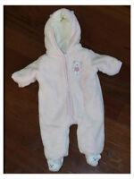 Snowsuits, diaper bag & boots