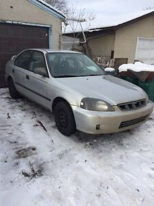 1997 civic 5 speed + parts car