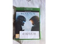 halo 5 guardians , xbox one , brand new & sealed ! price stands , no offers !
