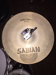 "Sabian AA fusion hihat cymbals 14"""