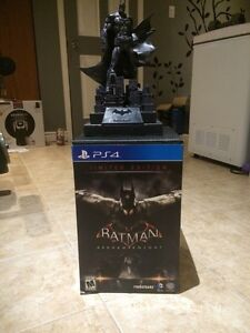 Batman Arkham Knight Limited edition with statue PS4 West Island Greater Montréal image 2