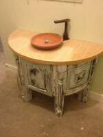 Antique style custom Designer . Reclaimed ON SALE NO TAX