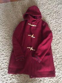 Topshop duffle coat size 14