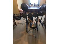 Roland TD-6 Electric Drum kit with Sound Module and Amplifier