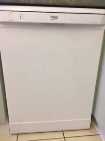 IMMACULATE BEKO Dishwasher DFSN 1354