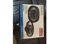Clarion 6x9 speakers NEW