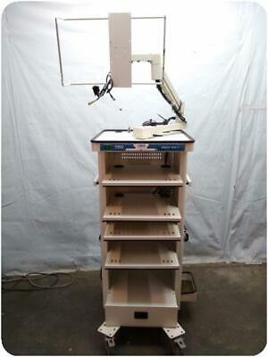 Karl Storz 9601-f Gokart Endoscopy Cart Tower 220946