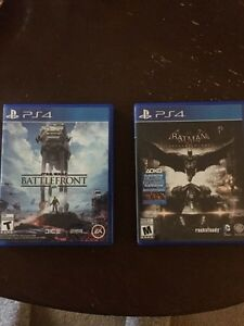 PS4 games for sale $40 for each or $70 for both OBO!!! Regina Regina Area image 1