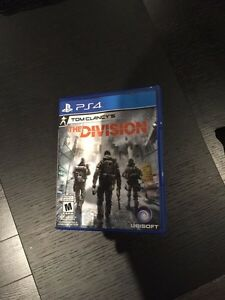 The division ps4 like new