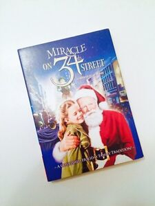 MIRACLE ON 34th STREET DVD (BRAND NEW/SEALED!)