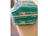 Pampers size 6 nappies x62