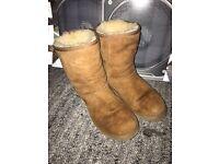 Genuine ugg boots ladies size 7