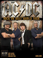 AC/DC Rock or Bust Concert Tickets!