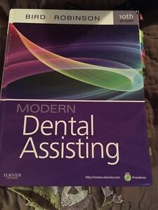 Modern dental assisting book Cambridge Kitchener Area image 1